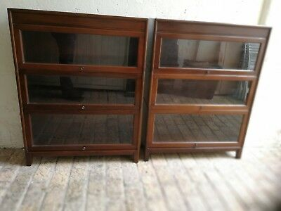 Pair of Globe-Wernicke style Barristers Bookcase