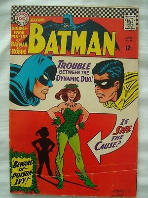 Batman 181. 1966 Original owner copy. First appearance of Poison Ivy.