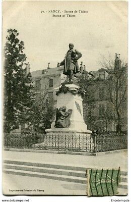 CPA -Carte postale-France- Nancy - Statue de Thiers - 1920 (CP1532)