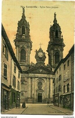 CPA -Carte postale-France- Lunéville - Eglise Saint Jacques - 1907 (CP1535)