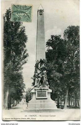 CPA -Carte postale-France- Nancy - Monument Carnot (CP1538)