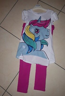 completo bambina 7 8 anni my little pony