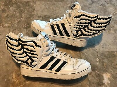 huge selection of b71f2 4d04f Adidas Jeremy Scott Wings 2.0 Pixel Black White Men s Size 8 RARE! G95769