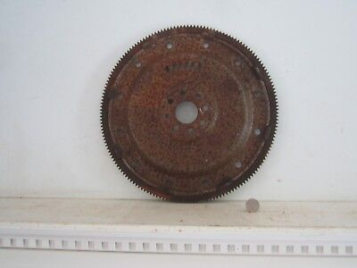 "Vintage Large 14 1/8"" Rusty Metal Steel Flywheel Gear Industrial Steampunk"