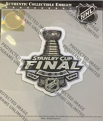 check out 821fd 9e252 2018 STANLEY CUP Final Jersey Patch Nhl Vegas Golden Knights Washington  Capitals