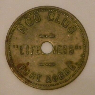 Panama token: Liveliners NCL Club Fort Kobbe