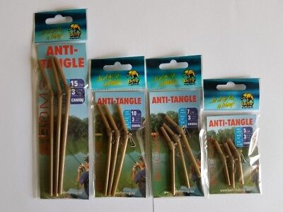 30 x Anti Tangle Behr FEEDER BOOM Abstandhalter Futterkorb Blei 5/7/10/15 cm