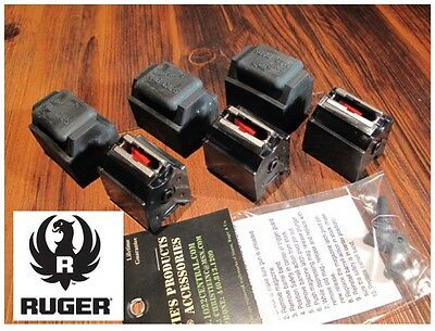 3 Pack Fits Ruger 10/22 Magazines 22 LR BX-1 10 RD Clips 90451 W/ CAPS & Goodie