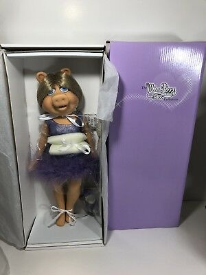 "16"" Miss Piggy Basic TONNER MUPPETS Doll New with box"