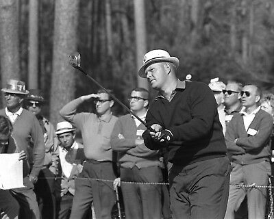 JACK NICKLAUS AT The 1986 Masters Golf Tournament - 8X10 Sports