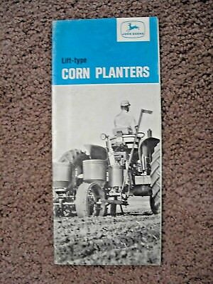 1965 John Deere lift type corn planters dealer brochure