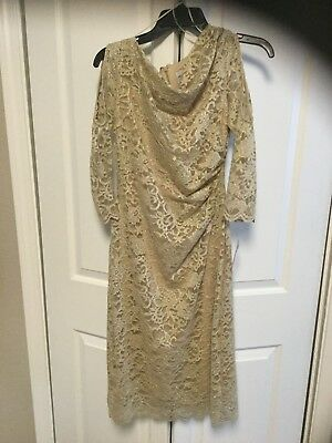 Formal Wear Size 6 Mother of the Bride or Wedding NWT Taupe