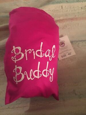 BRIDAL BUDDY: WHITE size 42 (used once)