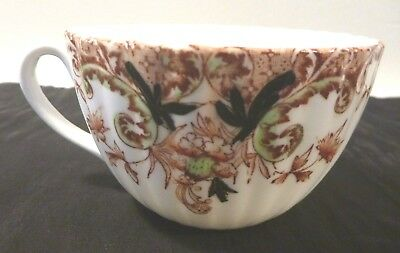 Antique Porcelain Tea Cup Marked to base SR intertwined.