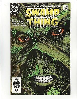 Swamp Thing #49 - Alan Moore, Justice League Dark! - 9.0 Very Fine /Near Mint!