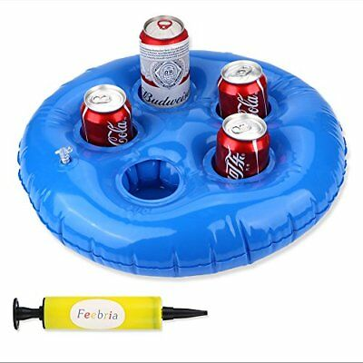 Inflatable Beer Holders For Pool Hot Tub Cupholder Adults, Kids Parties U0026  Beach
