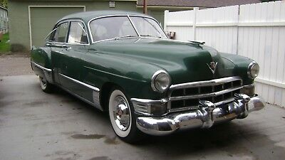 1949 Cadillac SERIES 62  1949 cadillac series 62 sedan, vintage air, power steering, front disc brakes