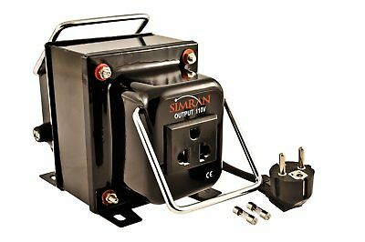 Simran THG-1000 220V/240 110V/120 Step Down Transformer 220 To 110 Volt 1000W