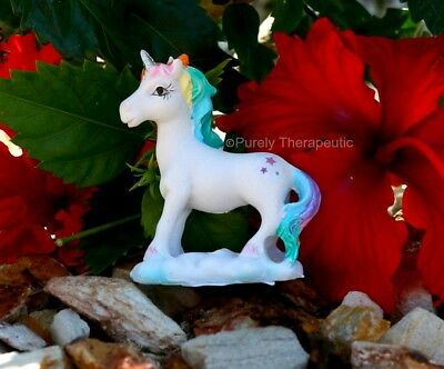 UNICORN FIGURINE MAGICAL 5cm FREE STANDING Mythical Magic Horse Miniature