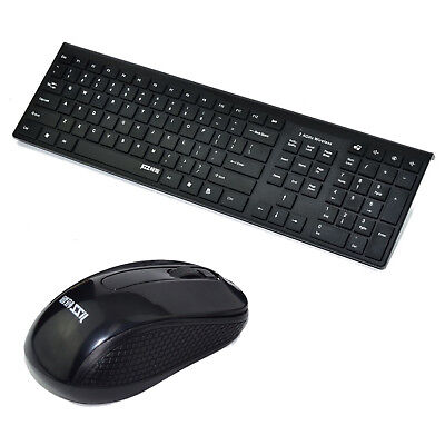 Wireless 2.4GHZ Keyboard And Mouse Combo For Macbook iPhone iPad Tablet PC New