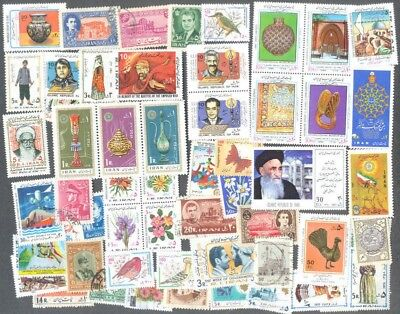 Cyprus 100 all different stamp collection used & mint