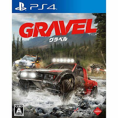 Amuzio Gravel  SONY PS4 PLAYSTATION 4 JAPANESE VERSION