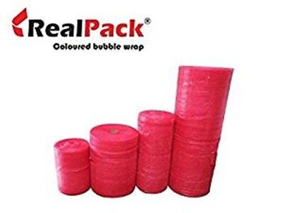 REALPACK® RED small bubble WRAP 300mm 500mm 750mm ANTI  STATIC