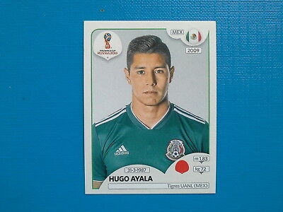 Figurine Panini World Cup Russia 2018 n.455 Hugo Ayala Mexico