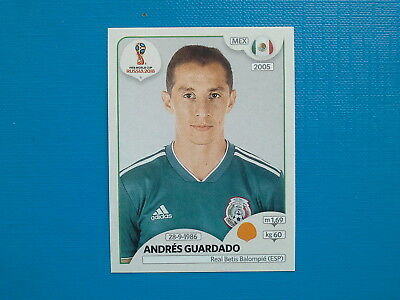 Figurine Panini World Cup Russia 2018 n.463 Andrés Guardado Mexico
