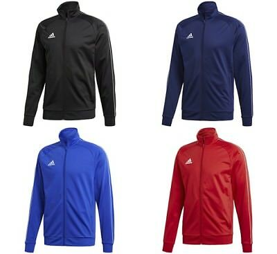 Adidas Core Boys Jackets Junior Top Kids Sports Jumper Running Training