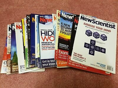 New Scientist Magazines Job Lot 116 Issues from 2006 2007 2008