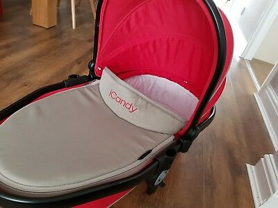 iCandy Peach Blossom Twin Carrycot - Sherbet