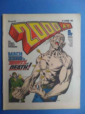 2000Ad Prog 67 1978 Bolland Cover Classic Cursed Earth!