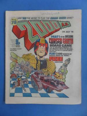 2000Ad 75 1978 Classic Flesh Cursed Earth Game Cover!! Very Nice!