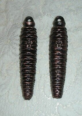 Set of 2 CUCKOO CLOCK WEIGHTS 275g *New Old Stock*