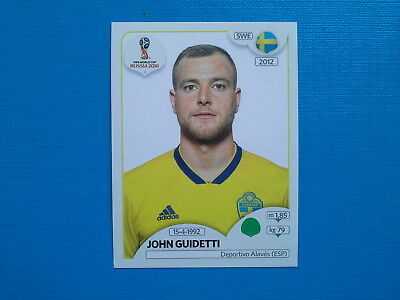 Figurine Panini World Cup Russia 2018 n.490 John Guidetti Sweden