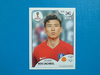Figurine Panini World Cup Russia 2018 n.500 Koo Jacheol Korea Republic