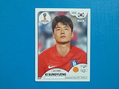 Figurine Panini World Cup Russia 2018 n.502 Ki Sungyueng Korea Republic