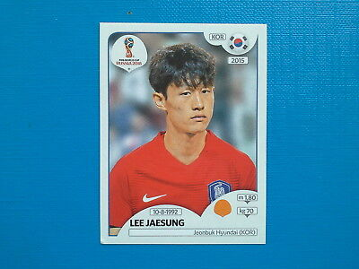 Figurine Panini World Cup Russia 2018 n.507 Lee Jaesung Korea Republic