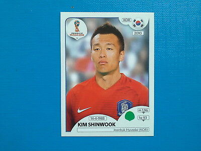 Figurine Panini World Cup Russia 2018 n.510 Kim Shinwook Korea Republic