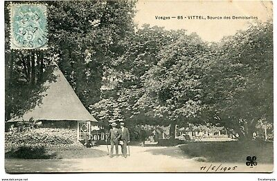 CPA-Carte postale-France- Vittel - Source des Demoiselles - 1905 (CP1610)