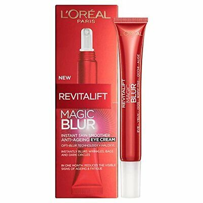 New L'Oreal Paris Revitalift Magic Blur Anti-Ageing Eye Cream 15ml