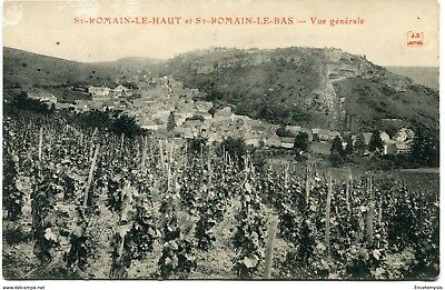 CPA-Carte postale-France- Saint Romain le Haut et Saint Romain le Bas -