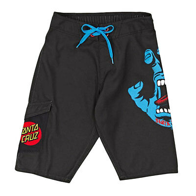 Costume Santa Cruz Youth B-Short Screaming Hand Black