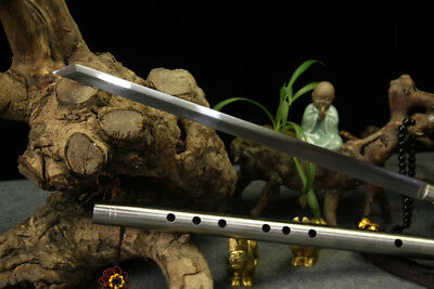 High Manganese Steel Chinese wushu Sword Musical Instruments Flute Sword Martial