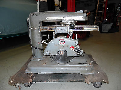 Vintage Delta Multiplex model 20-a Radial Arm Saw Heavy Duty Look !!!!!
