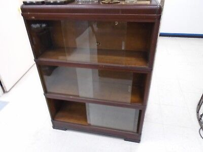 3 pcs slidding glass doors bookcase