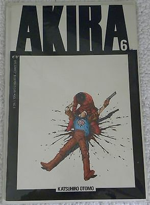 Akira Vol 1 #6  Katsuhiro Otomo In Near Mint Or Better Condition Free Shipping