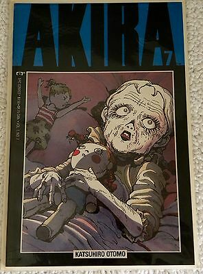 Akira Vol 1 #7  Katsuhiro Otomo In Near Mint Or Better Condition Free Shipping