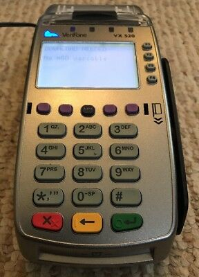 Verifone VX 520 Credit Card and Gift card terminal